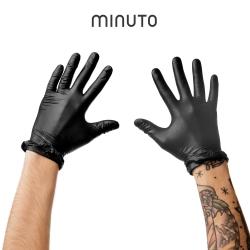Guantes Nitrilo Negro