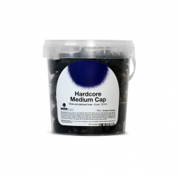 Hardcore Medium Cap Cubo 120 uds